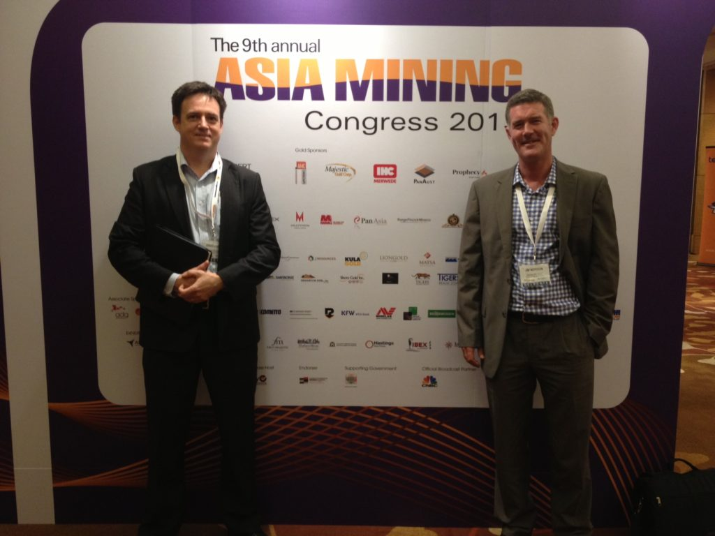 Asia Mining Congress – Doug & Jim in Singapore