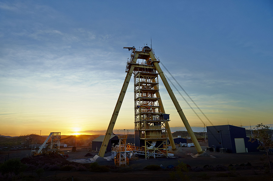 George Fisher Mine expansion